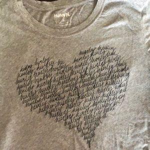 Hurley T-shirt Grey